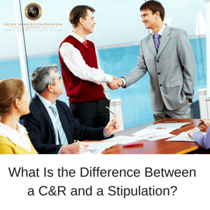 What is the difference between a C&R and a Stipulation?