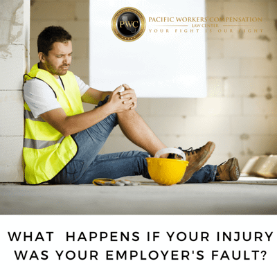 What Happens If Your Injury Was Your Employer's Fault (Serious and Willful Misconduct)