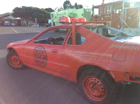 Pacific Workers' Compensation Demolition Derby Car